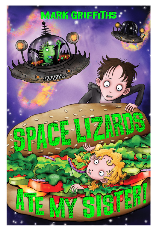Space Lizards Ate My Sister! Cover