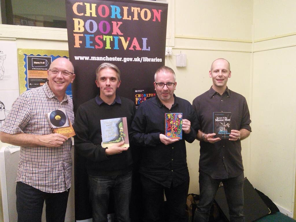 Pic 1 from Chorlton Book Festival